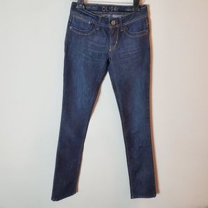 DL1961 Lindsey Slim Straight Stretch Dark Jeans